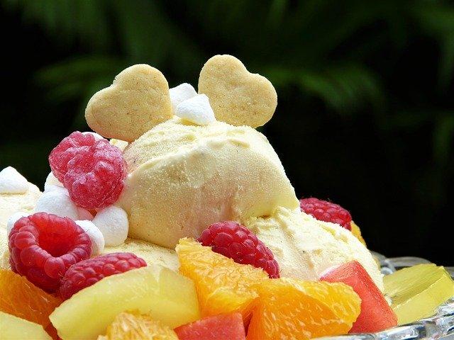 stévie k oslazení domácí zmrzliny